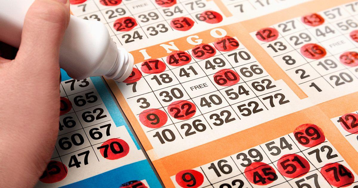 Person-stamping-bingo-card